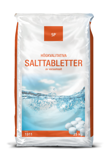 Salinity Salt tablets for water softening