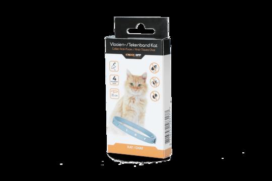 Knock Off flea tick collar 35 cm cat NL + FR