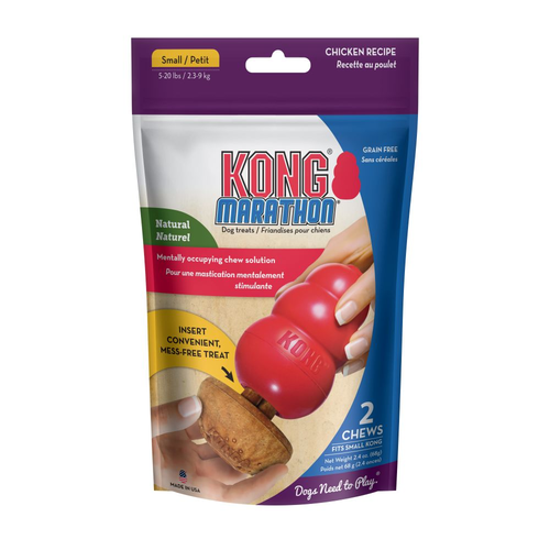 Kong Marathon 2-pk Chicken Small