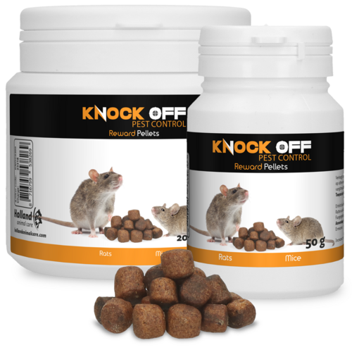 Knock Off Reward Pellets for mice and rats