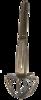 Whisk umbrella model, Stainless steel