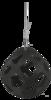 Hay Slowfeeder grey diam. 40 cm plastic