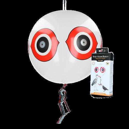Knock Off Scare balloon white