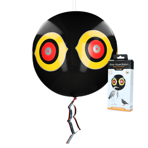 Knock Off Scare balloon Black