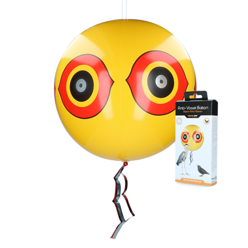 Knock Off Scare balloon Yellow