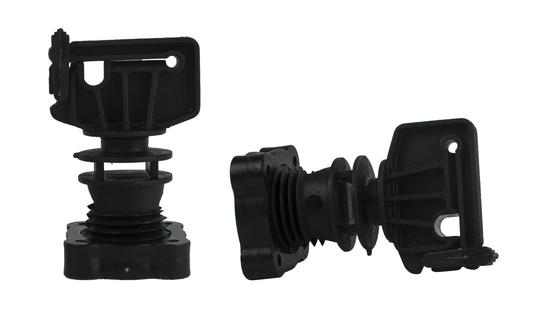 Isolator schroefklem voor ronde paal ø 16mm, lint tot 30 mm