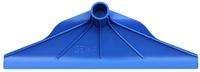 Kot und Dreckschaber Kunststoff Blau ohne Stiel