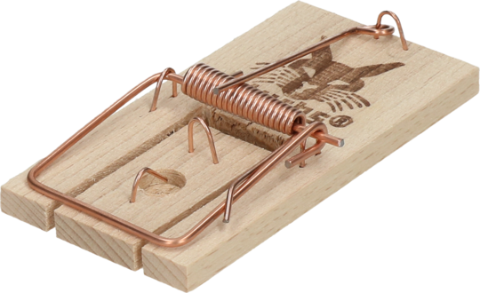 Mouse Trap Wood Luchs