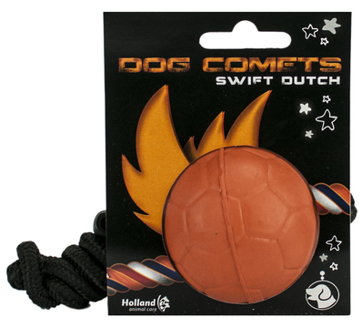Dog Comets Ball Swift Dutch with Rope