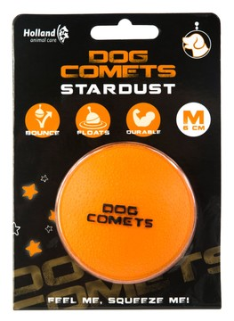 Dog Comets Ball Stardust Orange M