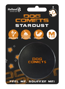 Dog Comets Ball Stardust Black/Orange M