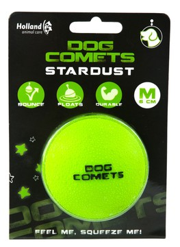Dog Comets Ball Stardust Green M