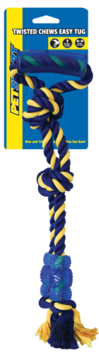 Twisted Monster 50cm Rope w/ TPR Handle w/ TPR Bite Zone