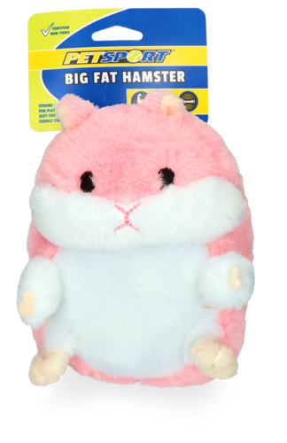 Big Fat Hamster Pink
