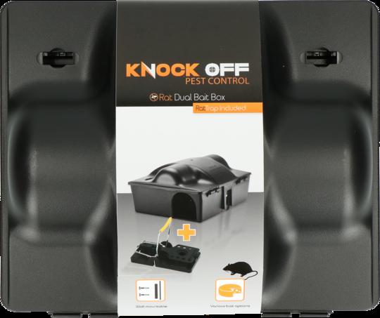 Knock Off Baitbox Rat/Mouse Dual bait with rat trap