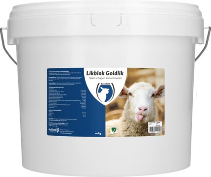 Lickbucket Goldlik sheep/lamb