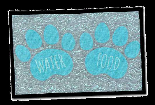 Food & Water Fashion Mat