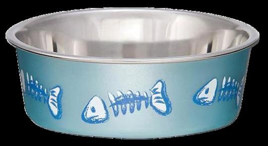 Bella Skeleton Fish Bowl Blue XS 284 ml