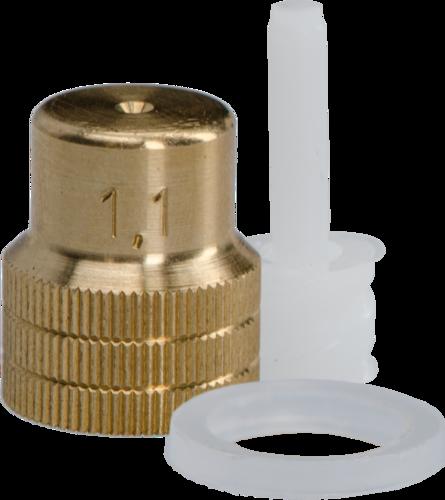Mesto Nozzle 1,1 mm met wervel
