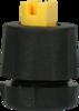 Mesto Flat Jet Nozzle 110-02 Acid Resistant