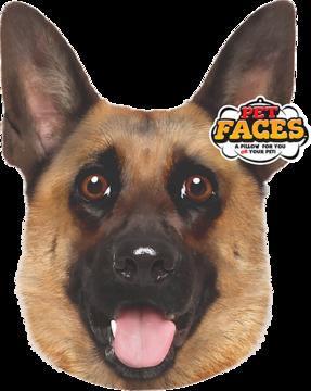 Pet Faces German Shepherd