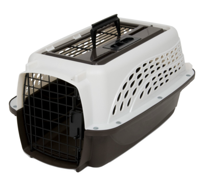 Petmate 2 Door Top Load Kennel XS White