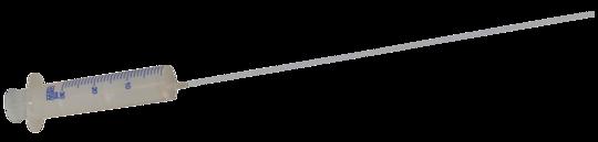 Catheter + disposable syringe 30ml