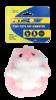 Tiny Tots Fats Hamster Pink