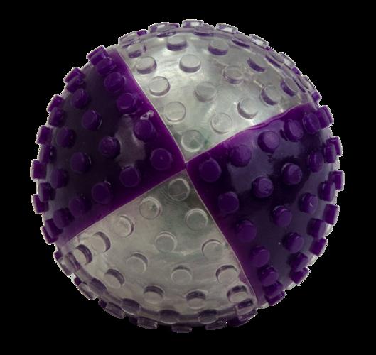 VisionSmart Visi clear/purple ball