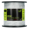 ZoneGuard 6 mm Basic fencing rope white 200 m